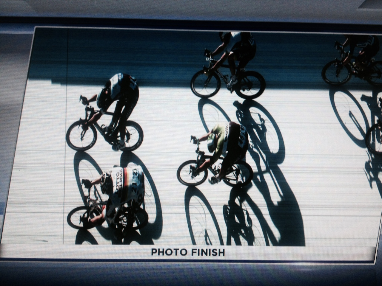 Foto finish Tom Boonen